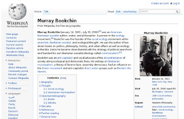 http://en.wikipedia.org/wiki/Murray_Bookchin