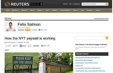 http://blogs.reuters.com/felix-salmon/2011/08/12/how-the-nyt-paywall-is-working/