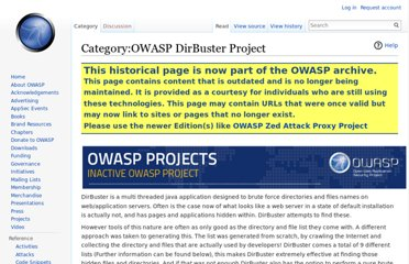https://www.owasp.org/index.php/Category:OWASP_DirBuster_Project