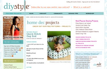 http://diystyle.net/projects/home-decorating/dog-bed/