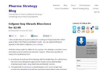 http://pharmastrategyblog.com/2010/06/celgene-buy-abraxis-bioscience-for-29b.html/