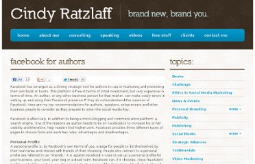 http://cindyratzlaff.com/blog/personal-branding/facebook-for-authors/