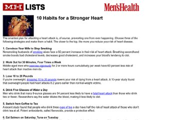 http://www.menshealth.com/mhlists/protect_your_heart/printer.php