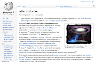 http://en.wikipedia.org/wiki/Alien_abduction