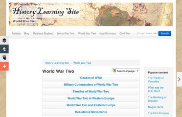 http://www.historylearningsite.co.uk/WORLD%20WAR%20TWO.htm