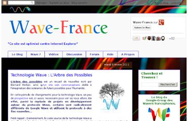 http://wave-france.blogspot.com/2011/02/technologie-wave-larbre-des-possibles.html