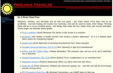 http://www.freelancetraveller.com/features/consgoods/index.html