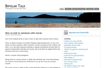 http://www.bipolartalk.org/how-to-talk-to-someone-with-mania.html