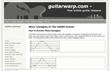 http://www.guitarwarp.com/guitar_arpeggios/minor_caged_arpeggios/part_two.html