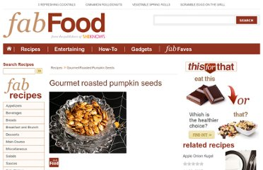 http://www.fabulousfoods.com/recipes/gourmet-roasted-pumpkin-seeds
