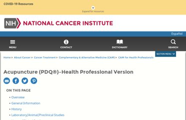 http://www.cancer.gov/cancertopics/pdq/cam/acupuncture/healthprofessional/page1
