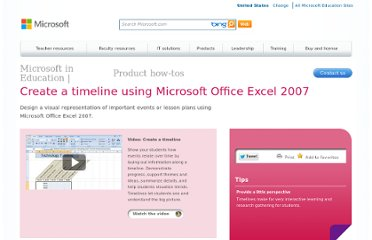 http://www.microsoft.com/education/en-us/teachers/how-to/Pages/timeline.aspx