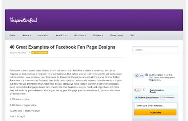 http://inspirationfeed.com/inspiration/30-great-examples-of-facebook-fan-page-designs/