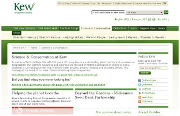 http://www.kew.org/science-conservation/index.htm