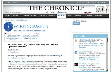 http://chronicle.com/blogs/wiredcampus/as-grants-run-out-universities-pony-up-cash-for-opencourseware/21568