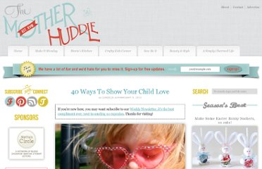 http://www.themotherhuddle.com/40-ways-to-show-your-child-love/