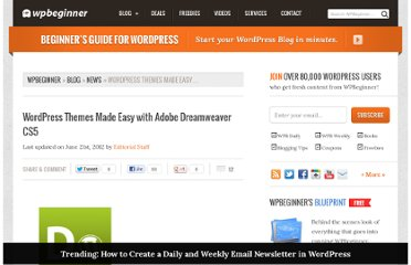 http://www.wpbeginner.com/news/wordpress-themes-made-easy-with-adobe-dreamweaver-cs5/