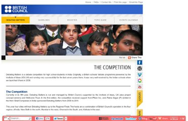 http://www.britishcouncil.org.in/debatingmattersindia/the_competition.aspx