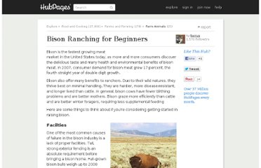 http://kerryg.hubpages.com/hub/bisonranching