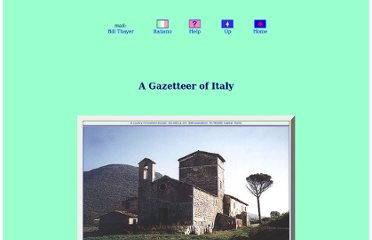 http://penelope.uchicago.edu/Thayer/E/Gazetteer/Places/Europe/Italy/home.html