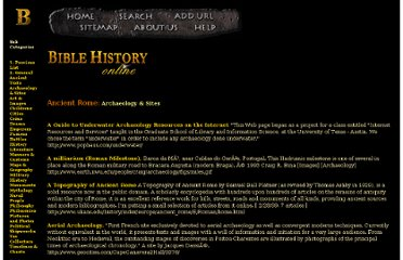 http://www.bible-history.com/links.php?cat=1&sub=58&cat_name=Ancient+Rome&subcat_name=Archaeology+&+Sites