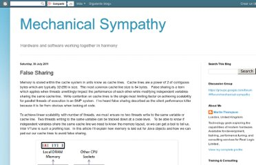 http://mechanical-sympathy.blogspot.com/2011/07/false-sharing.html