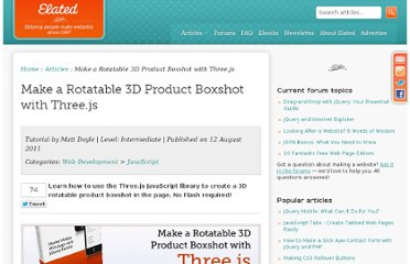 http://www.elated.com/articles/rotatable-3d-product-boxshot-threejs/