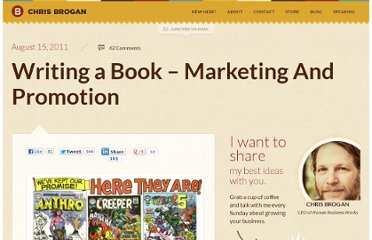 http://www.chrisbrogan.com/writing-a-book-marketing-and-promotion-2/