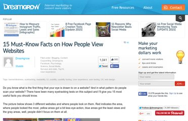 http://www.dreamgrow.com/15-must-know-facts-on-how-people-view-websites/