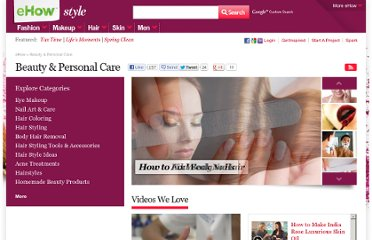 http://www.ehow.com/beauty-and-personal-care/