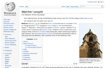 http://en.wikipedia.org/wiki/Watcher_(angel)