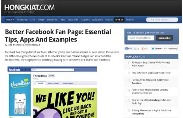 http://www.hongkiat.com/blog/facebook-fan-page-tips-apps-examples/
