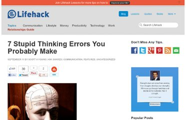 http://www.lifehack.org/articles/lifehack/7-stupid-thinking-errors-you-probably-make.html#