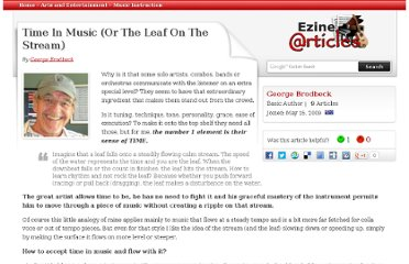 http://ezinearticles.com/?Time-In-Music-(Or-The-Leaf-On-The-Stream)&id=6456297