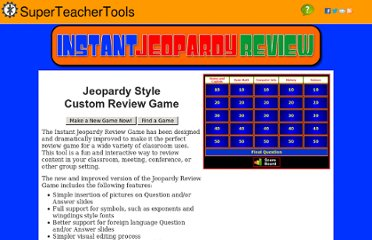 http://www.superteachertools.com/jeopardy/index.php