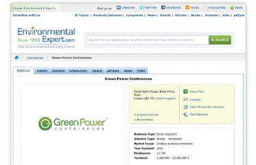 http://www.environmental-expert.com/companies/green-power-conferences-9252