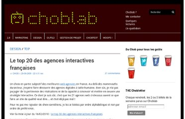 http://www.choblab.com/web-design/top20-agences-interactives-francaises-744.html