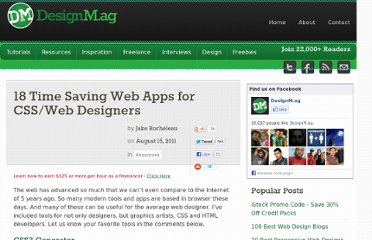 http://designm.ag/resources/18-time-saving-web-apps-for-cssweb-designers/