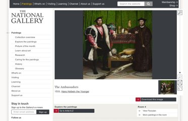 http://www.nationalgallery.org.uk/paintings/hans-holbein-the-younger-the-ambassadors