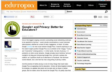 http://www.edutopia.org/blog/google-plus-privacy-audrey-watters
