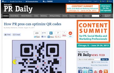 http://www.prdaily.com/Main/Articles/How_PR_pros_can_optimize_QR_codes__9226.aspx