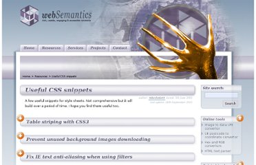 http://www.websemantics.co.uk/resources/useful_css_snippets/