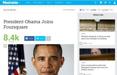 http://mashable.com/2011/08/15/obama-joins-foursquare/
