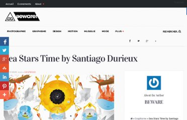 http://bewaremag.com/2010/09/06/sea-stars-time-by-santiago-durieux/