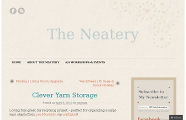 http://theneatery.wordpress.com/2010/04/08/clever-yarn-storage/