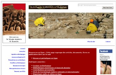 http://www.archeologia.be/ressources.html