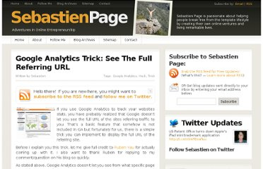 http://www.sebastienpage.com/2009/05/06/google-analytics-trick-see-the-full-referring-url/