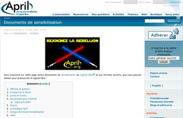 http://www.april.org/sensibilisation