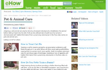 http://www.ehow.com/videos-on_6914_pet-animal-care.html