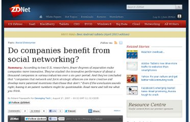 http://www.zdnet.com/blog/emergingtech/do-companies-benefit-from-social-networking/665